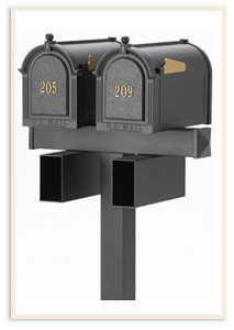 2 mailbox system's available