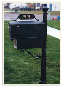 Post 5, Mailbox 1, Paperbox