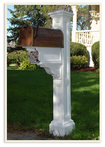 Charleston Plus w/ small Standard mailbox  <br>All colors $369.00
