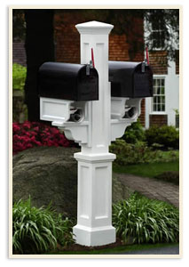 Rockport 2 mailbox system  <br>All colors $439.00 <br>Add a Solar Cap $85.00 extra