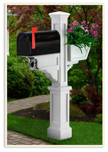 Signature Plus w/ small mailbox <br>All colors $369.00 <br>Add a Solar cap $85.00 extra